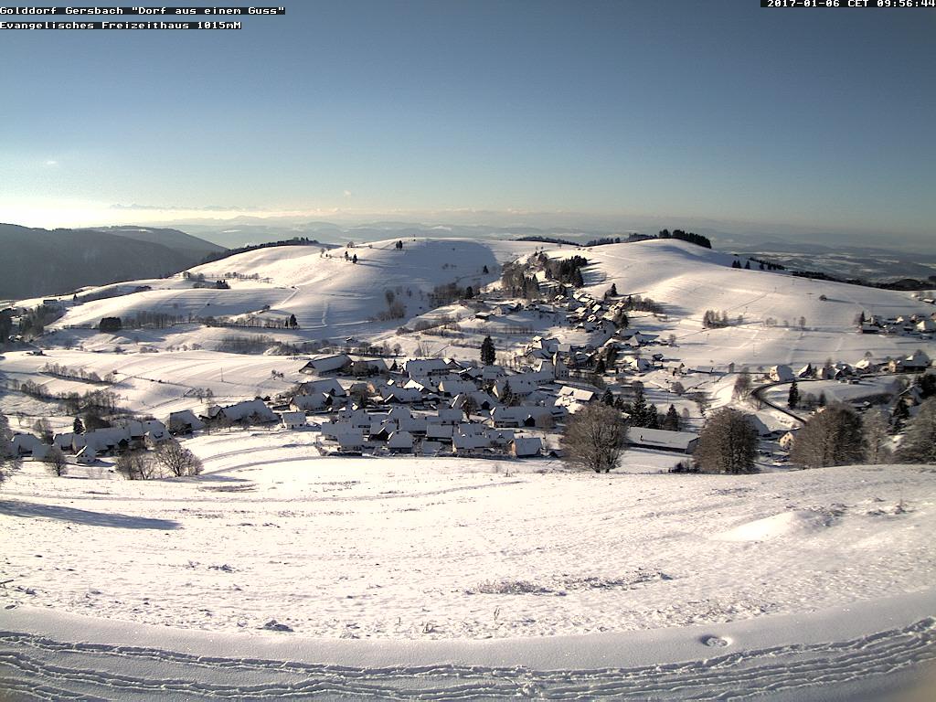 Jahresbeginn in  Gersbach
